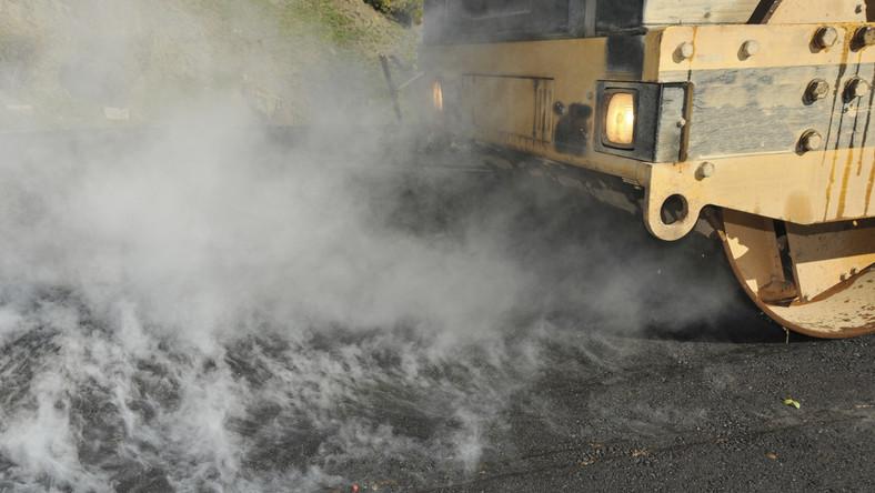 asfalto en caliente