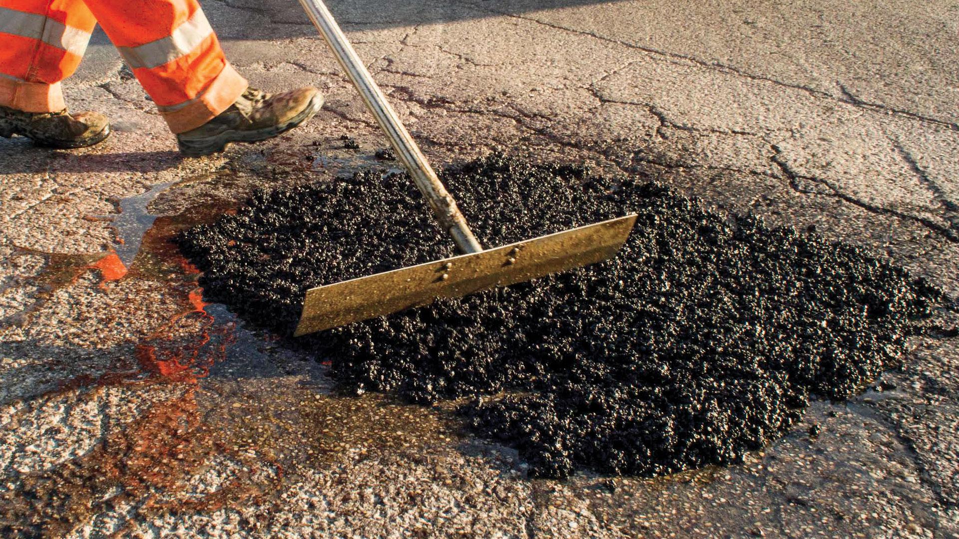 asfalto en frío