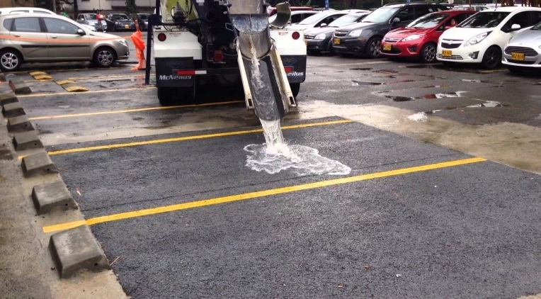 asfalto permeable